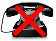 Не работают телефоны