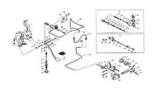 Механизм выключения сцепления
